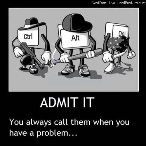 Admit It Keyboard
