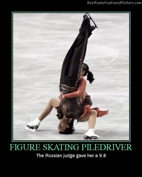 figure skating piledriver best-demotivational-posters