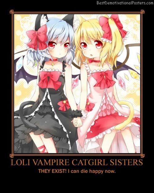 Loli Vampire Catgirl Sisters