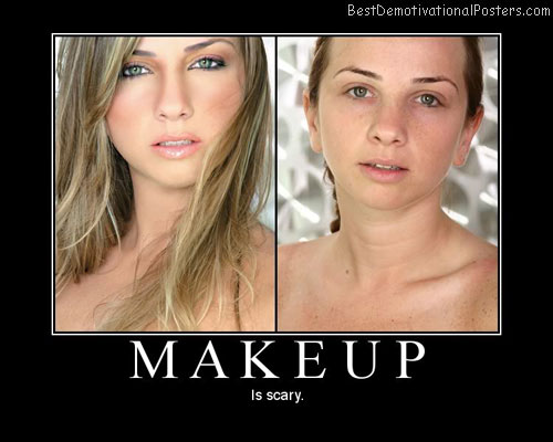 makeup best-demotivational-posters
