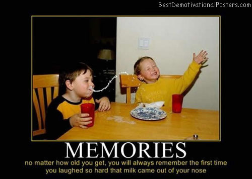 memories milk nose best-demotivational-posters