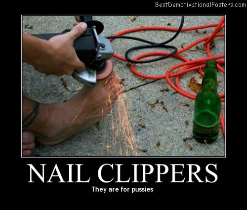 nail-clippers best-demotivational-posters