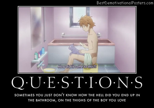 questions bathroom anime
