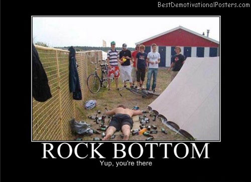 rock bottom best-demotivational-posters