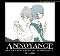 Annoyance game level anime