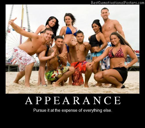 Appearance Pursue Demotivational Posters