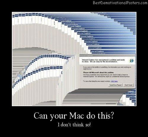 Can Your Mac Do This Best Demotivational Posters