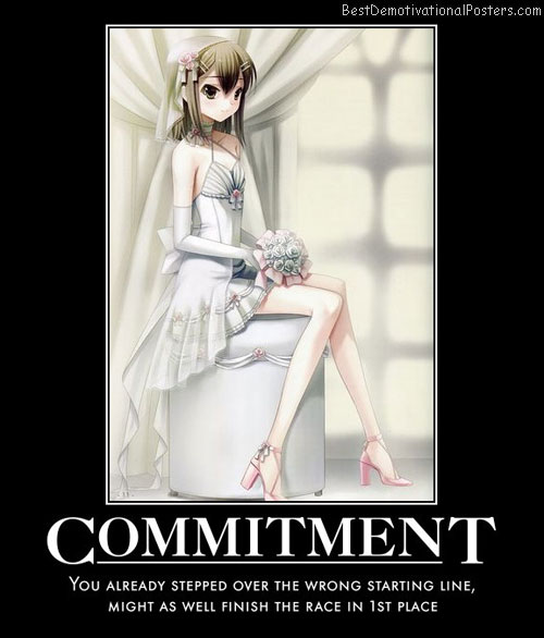Anime Commitment poster