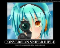 Conversion Sniper Rifle