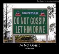 Do Not Gossip Best Demotivational Posters