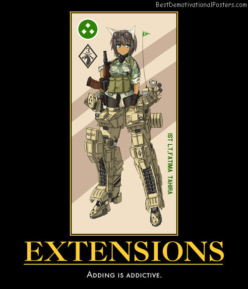 Extensions anime