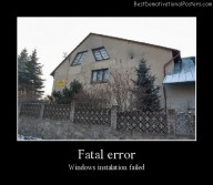 Fatal Error Best Demotivational Posters