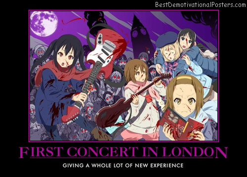 First Concert In London anime