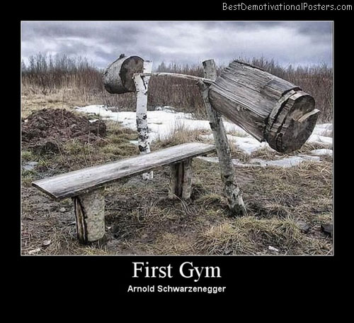 Best Gym demotivational poster