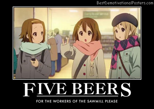 Five Beers anime