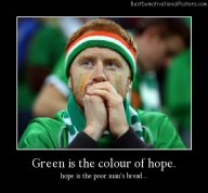 Green Is The Color Of Hope