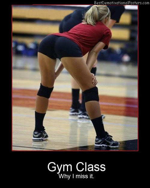 Gym Class Best Demotivational Poster