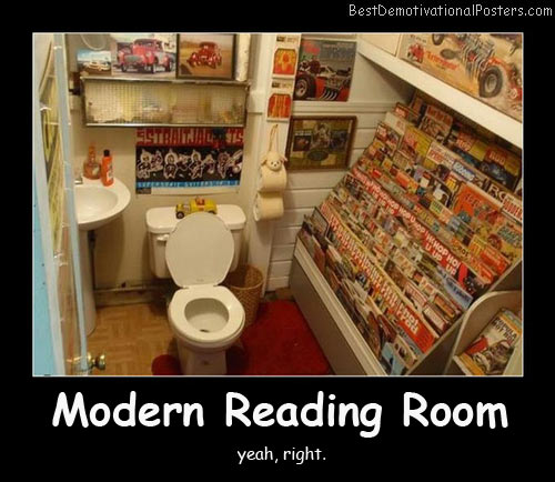 Modern Reading Room Best Demotivational Posters
