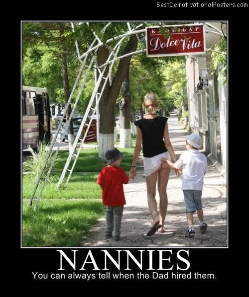 Nannies Hired by Dad