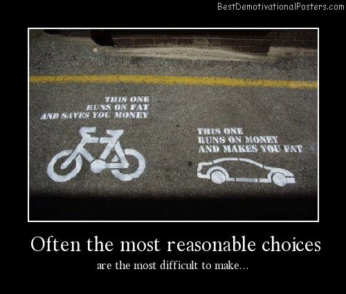 Often-the-most-reasonable-choices Best Demotivational Posters