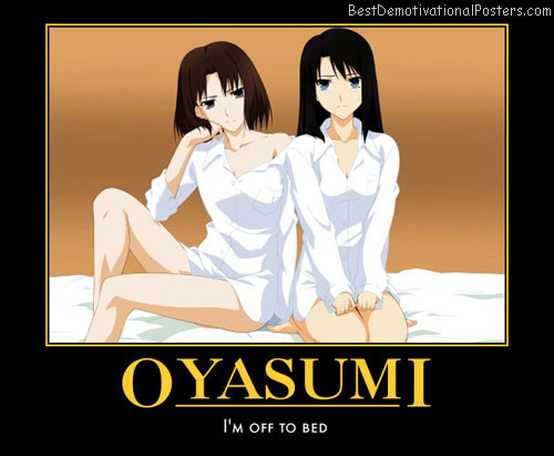 Oyasumi in Bed