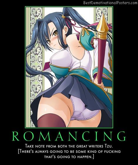 Romancing anime