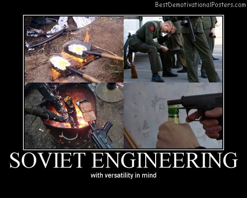 Soviet Funny Engineering Demotivational Posters