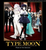 Type Moon fabulous anime