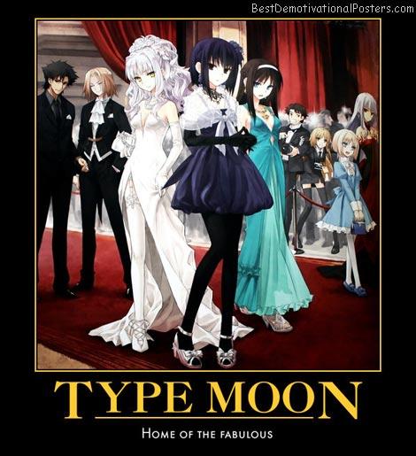 Type Moon fabulous anime
