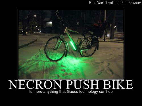 necron push bike Best Demotivational Posters