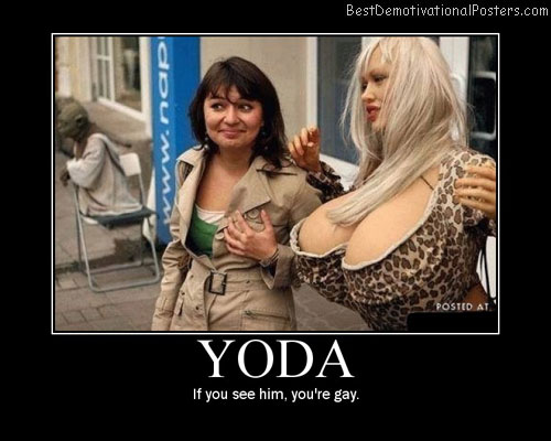 yoda-star-wars-boobs-blonde Best Demotivational Posters