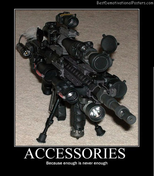 Accessories Funny Poster