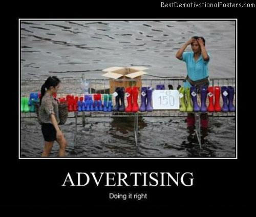 Advertising Best Demotivational Posters