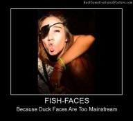 Fish Faces Best Demotivational Posters