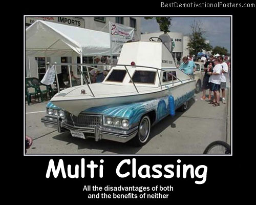 Multiclassing car-boat