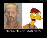 Real Life Cartoon Hero
