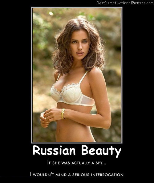 Russian Beauty Best Demotivational Posters