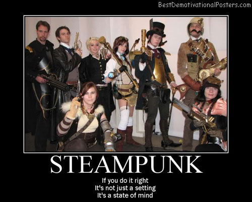 Steampunk Best Demotivational Posters