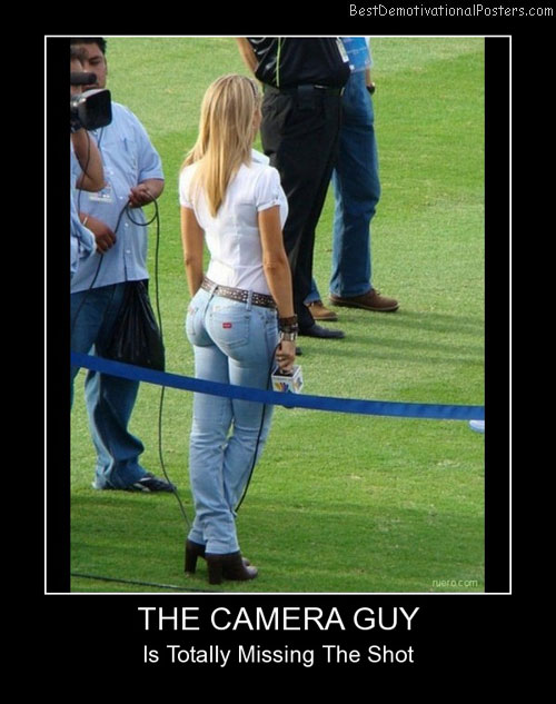 Camera Guy Funny Demotivational Posters