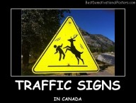 Traffic Signs in Canada