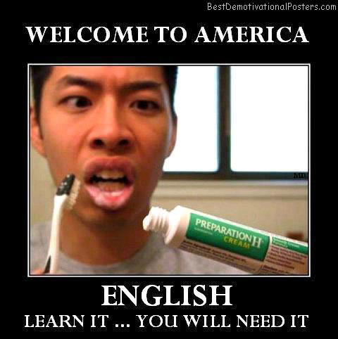 Welcome To America Best Demotivational Posters