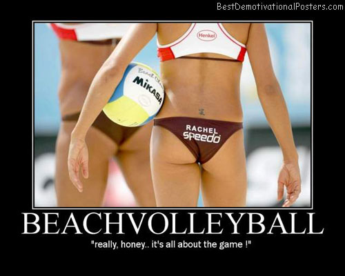 Beach Volleyball Best Demotivational Posters