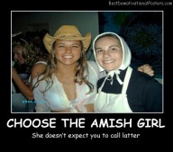 Choose The Amish Girl