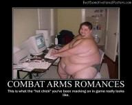Combat Arms Romances Best Demotivational Posters