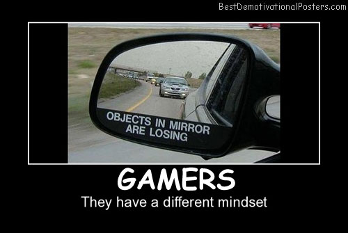 Gamers View Best Demotivational Posters