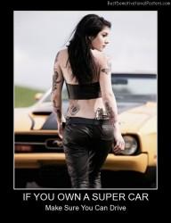 If You Own A Super Car