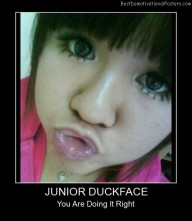 Junior Duckface