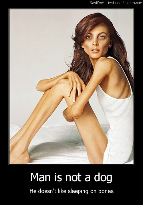 Anorexia Demotivational Poster