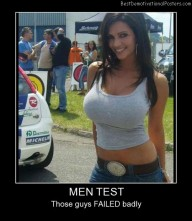 Men Test Failed