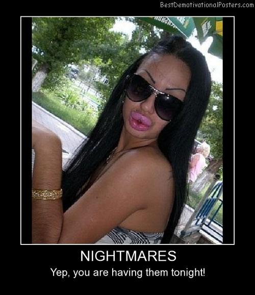 Nightmares Girls Best Demotivational Posters